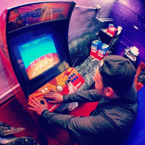 Sound Circus has a freeplay arcade machine! #sweet #jesus #wearefiction #tour