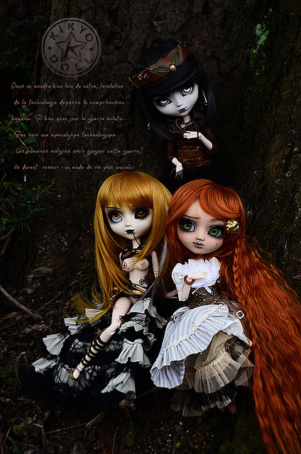 [Pullip] Steampunk World by Kikyô ★⋆*· (busy) on Flickr.