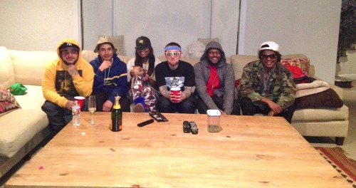 Last Supper: Yams, Dash, CIvil, Mac, School Boy & Ab - Soul