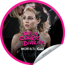"I just unlocked the The Carrie Diaries: A First Time for Everything sticker on GetGlue                      5747 others have also unlocked the The Carrie Diaries: A First Time for Everything sticker on GetGlue.com                  Will Carrie lose her v-card to Sebastian? Thanks for watching! You unlocked the ""A First Time for Everything"" sticker! Share this one proudly. It's from our friends at The CW."