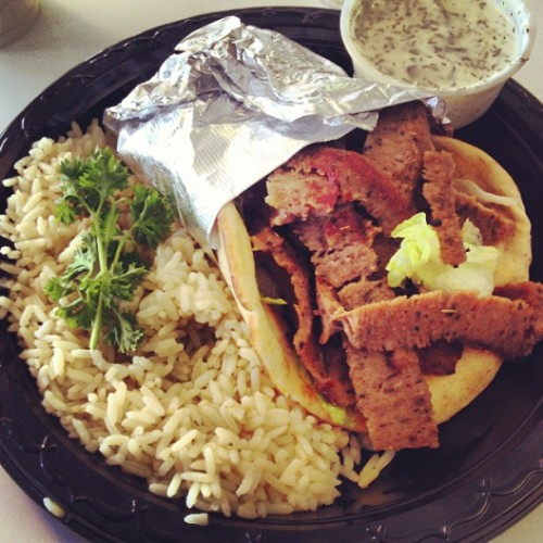 Gyro (at The Mad Greek Cafe)