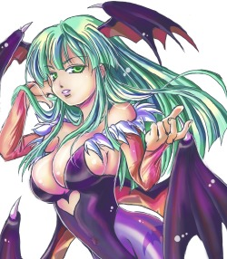Morrigan Aensland by うみちん★As found at