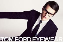 Simon Van Meervenne for Tom Ford SS13 Classic, simple, elegant.