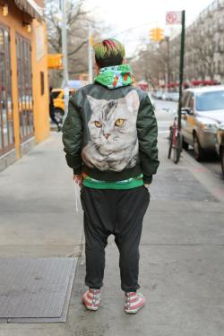 humansofnewyork:  Seen in East Village