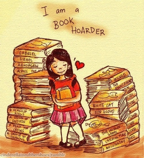 sleepygirl2:  I am a Book HoarderviaView Post