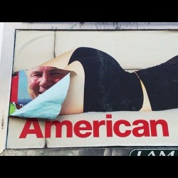 americanapparel:  One of our billboards in Los Angeles, California.