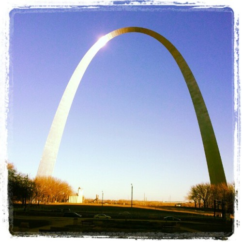 forgot to post the arch from Friday (at Gateway Arch)