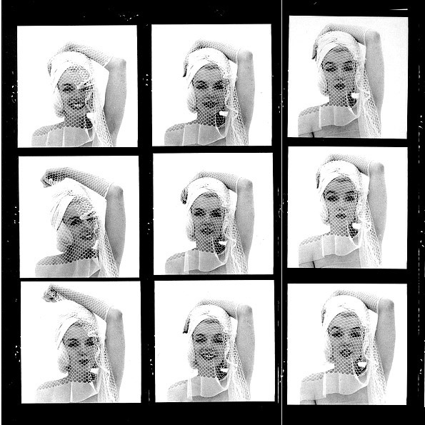 Marilyn Monroe photographed by Bert Stern, June 1962