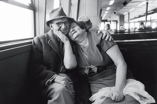sinuses:  Staten Island Ferry, 1967. Photo: Mary Ellen Mark