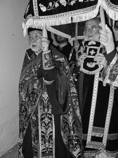priest and bishop on Flickr.