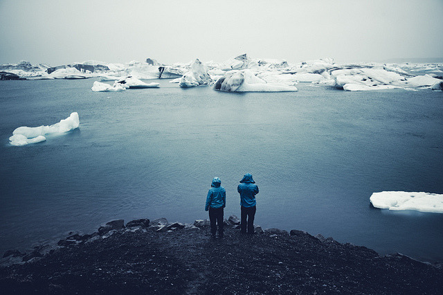 planet-one:  A Swan Song For Icebergs by Rasmus Hartikainen on Flickr.