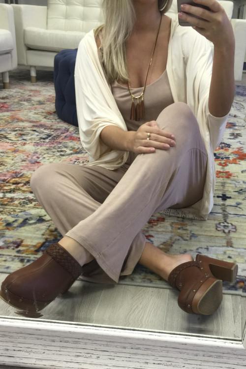 selfie mirror selfies shoefie high heeled clogs platform clogs flare pants flared pants blonde girl footwear