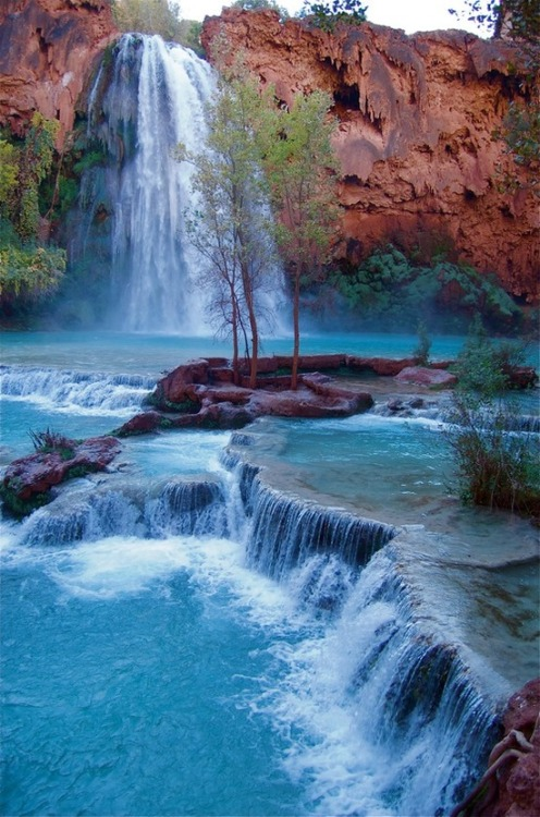 x-enial:  Havasu Falls, Havasupai Indian Reservation, Arizona