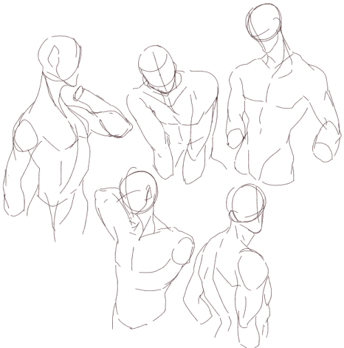 azidraws:  Figure practices and some woosh-woosh hair