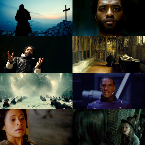 naomidamnbell:  sometimes i think about les mis w/ chiwetel ejiofor as jean valjean and angel coulby as fantine but more importantly norm lewis reprising his stage role as javert