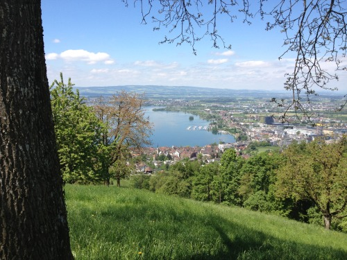 Lunch time ride up Zugerberg, Zug, Switzerland