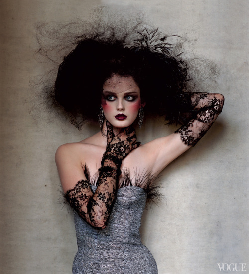 vogue:  From the Archives: Punk in Vogue Photographed by Irving Penn, December 2004 See the slideshow