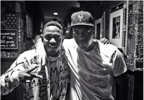 you4eya:  illmatic7:  Kendrick & Nas  YES. This makes me happy.
