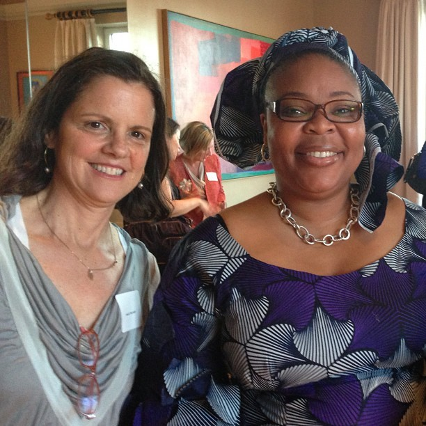 #celebrateWomen & #girls night & day. Anne Delaney & @LeymahRGbowee @NYWomensFdn http://www.nywf.org/