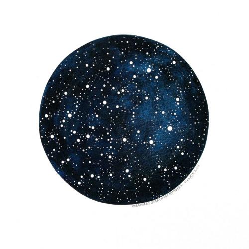 Imaginary Star Chart Number 6 by natasha newton | the blackbird sings on Flickr.