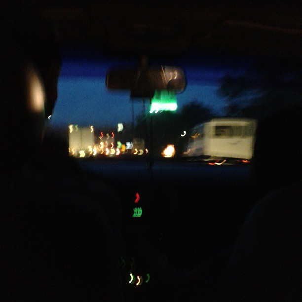 Roadtrip with @sjatienza #nightout #stroll #slex #unwind