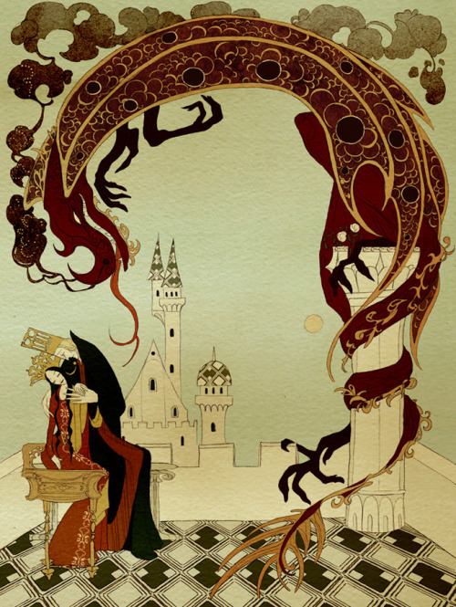 darksilenceinsuburbia:  Kate Baylay. The Olive Fairy Book.
