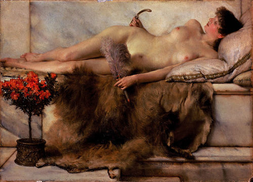 In the tepidarium (1881) Sir Lawrence Alma-Tadema