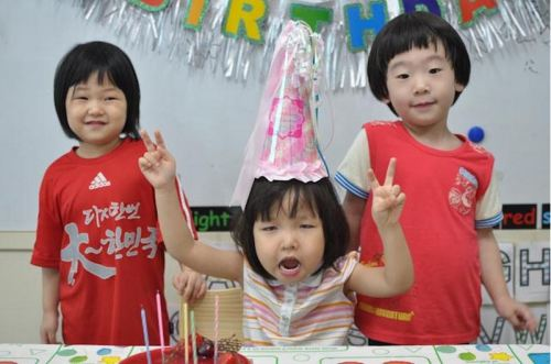 Nixon has been reincarnated as a 4-year-old girl in Seoul. Watch out Korea.