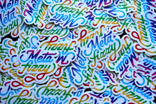 Metafizzy stickers (by Dave DeSandro)
