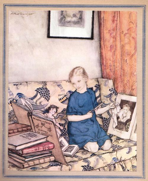 artdec0:  'The Soot Fairies' by Beryl & Arabella Stuart, illustrated by Arthur Rackham.
