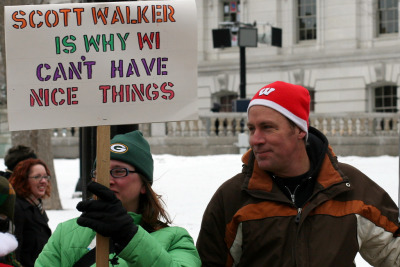 governorofwi:  quickhits:  If Wisconsin Governor Scott Walker were a dem, rightwing media would never stop talking about his $200k legal defense fund. [image source]  200k sure is a lot of money who says they are innocent.