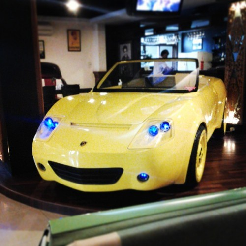 Cars themed restaurant  (at Dream Cars Cafe & Resto)