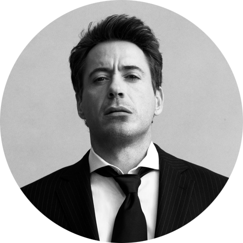 minimalistco:  Robert Downey Jr. by Greg Williams  Nyam