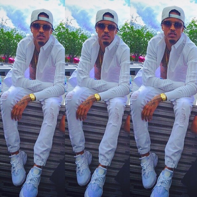August Alsina And His Baby