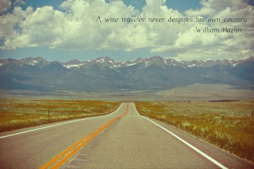 Wise words about travel