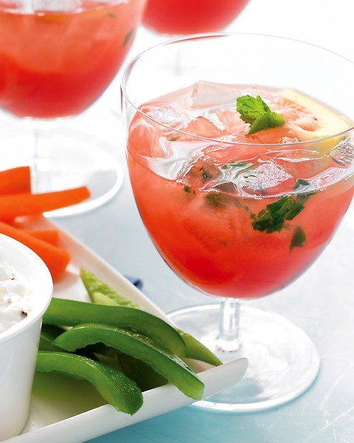 Watermelon Mint Lemonade Recipe (with or without vodka)
