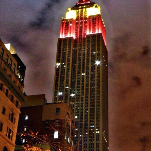 Empire State oF Mind #tonightscolors