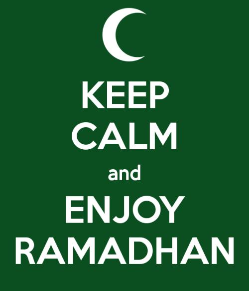 Keep Calm And Enjoy Ramadan