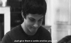 love quote text depressed depression sad suicidal movie Emma Watson book boy smile logan lerman yourself The Perks Of Being A Wallflower