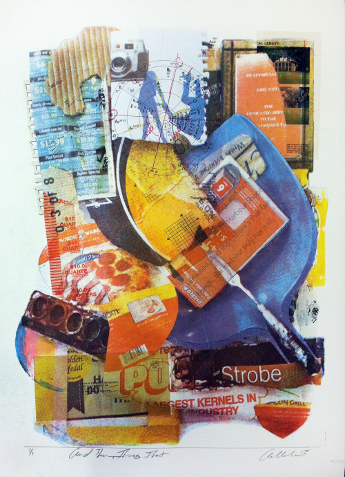 And Then Theres That Silkscreen, Collage 2013