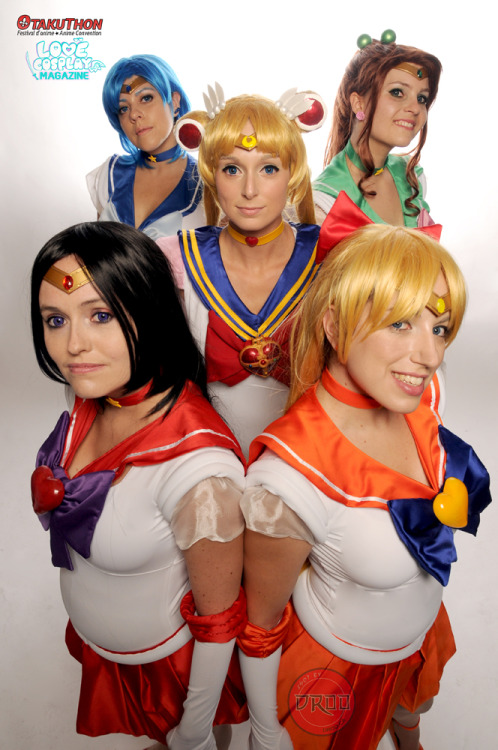 Sailor Moon and Sailor Scouts cosplayed by Marie-France, Jen, Ryoky, Fannie and KenKen. Photo taken at Otakuthon 2012 at my photography booth Visit the cosplayers here: https://www.facebook.com/pages/The-ScarletTears/279417212119647 Photography by Droo Image © Droo Photographer