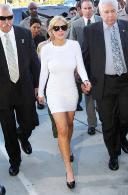 All of Lindsay Lohan's court outfits ranked by appropriateness (yes, you need to see this gallery):http://bit.ly/XnWfRk