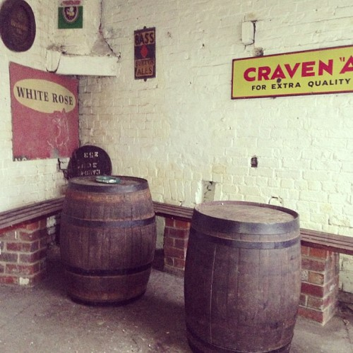 Barrel of laughs! #beer #cider #whiskey #barrel