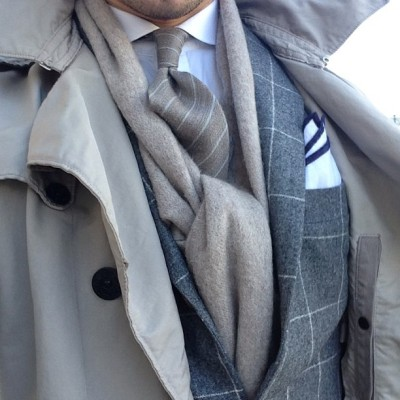 alexandfaust:  hugo-sthlm:  Beige and grey. #Suit #Gajola #Coat #StoneIsland #Tie #AmandaChristensen #Pochette #Meandmyeton #Shirt #OscarJacobson #Scarf #Adverb #Hugo #Kungsholmen #Stockholm #Sweden #Men #Menstyle #Sprezzatura (på/i Hugo)  Alex in Beige and Grey.