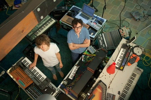 "lofichick:  rollingstone:  MGMT are getting even weirder on their synth-heavy third album, tentatively due out in June. Instead of using their live band, as they did on Congratulations, the core duo recorded alone, cherry-picking the best parts of their free-form jams to construct tracks that reflect the Aphex Twin and house records they've been listening to lately. Says Ben Goldwasser, ""We're not trying to make music that everyone understands the first time they hear it.""  Reblogging straight from the source."