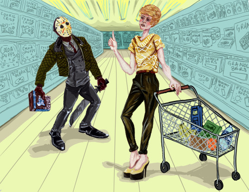 The Voorhees grocery shop in Burberry.