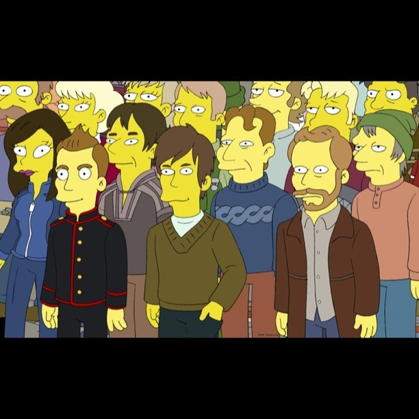 sigurros:  sigur rós on 'the simpsons' on may 19th - with new music! http://bit.ly/ZvlKRN  damn