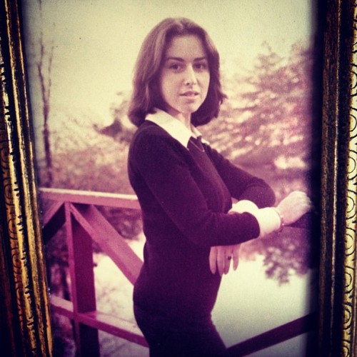 My mom was such a babe (& still is). Love this photo & love her. #tbt  (at Throwback Thursday)