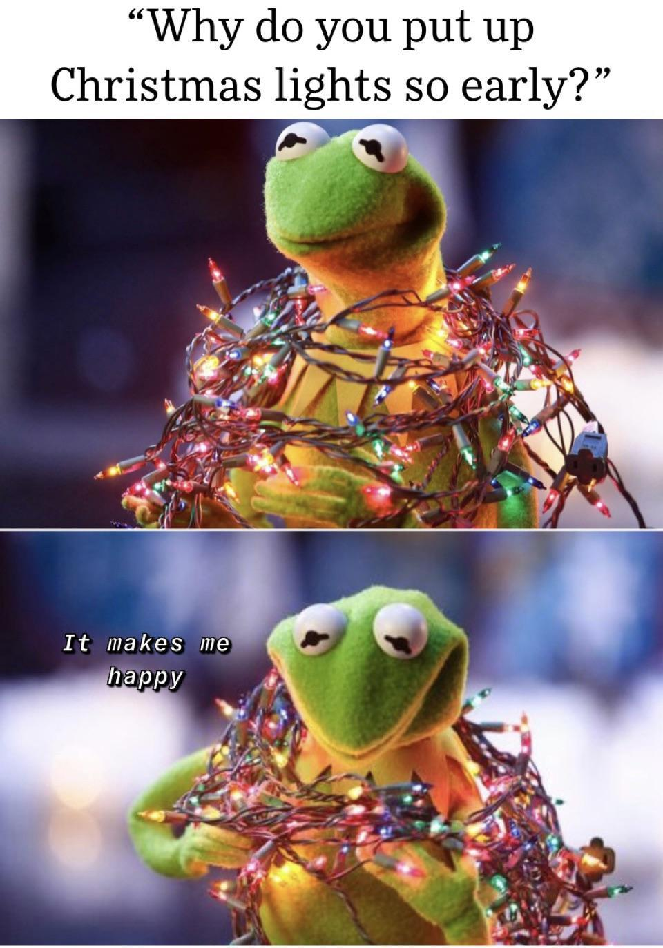 Even though I don't spend Christmas with my family, I always set up lights for myself. It brings me joy every year. #memes zem#meme#memes#funny#dankmemes#memesdaily#funnymemes#lol#follow#humor#dank#like#lo