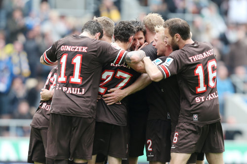 St.Pauli 5-1 Braunschweig I love you ,guys !